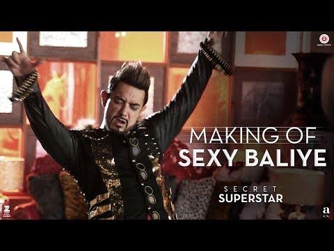 Making of Sexy Baliye | Secret Superstar | Aamir Khan | Mika Singh | Sanya Malhotra