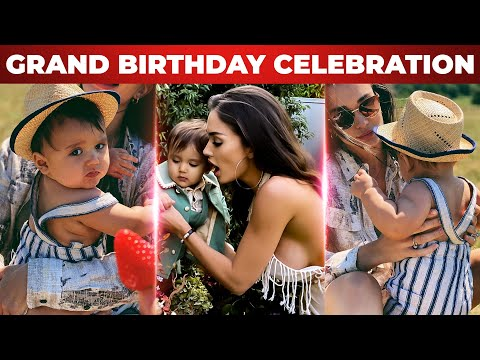 FULL VIDEO : Amy Jackson son Andreas 1st Grand Birthday Celebrations   Supergirl