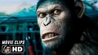 Video RISE OF THE PLANET OF THE APES Clips + Trailer (2011) James Franco Andy Serkis MP3, 3GP, MP4, WEBM, AVI, FLV Mei 2019