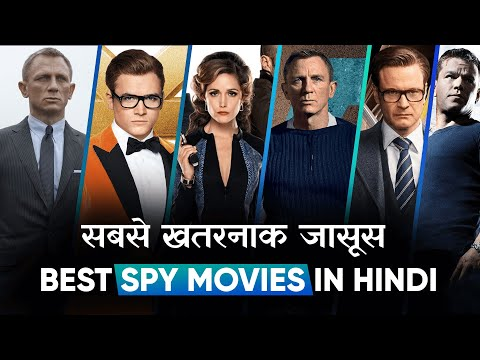 Top 10 Best Spy Movies Dubbed In Hindi All Time Hit   Best Detective Movies   Movies Bolt