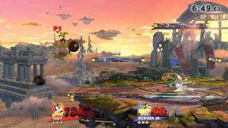 Bowser Jr. mirror matches are ridiculous