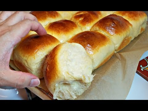 Soft and Chewy Dinner Rolls Recipe | How to make Fluffy Rolls | Sweet Milk Rolls Recipe
