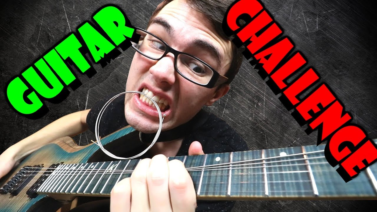Play Until You Break A String! (GUITAR CHALLENGE)
