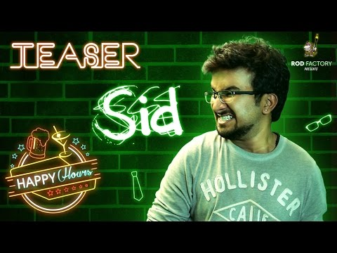Sid Character Intro | Happy Hours | Telugu Web Series by Rod Factory