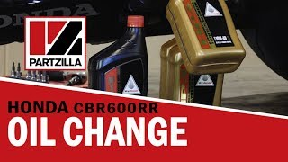 8. Honda CBR 600RR Oil Change | Partzilla.com