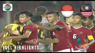 Video Indonesia (1) vs (0) Malaysia - Full Highlights | AFF U-16 Championship 2018 MP3, 3GP, MP4, WEBM, AVI, FLV Agustus 2018