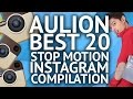 AULION BEST 20 STOP MOTION VIDEO INSTAGRAM [compilation]