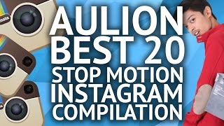 AULION BEST 20 STOP MOTION VIDEO INSTAGRAM [compilation]