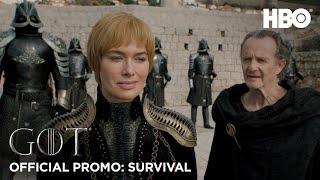 Game of Thrones   Season 8   Official Promo: Survival (HBO)