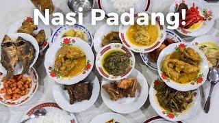 Video Nasi Padang - AMAZING Indonesian Food - Beef Rendang and Gulai Otak! MP3, 3GP, MP4, WEBM, AVI, FLV Februari 2018