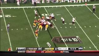 Christine Michael vs Iowa State (2011)