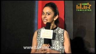 Rakul Preet Singh Speaks at Yennamo Yedho Movie Press Meet