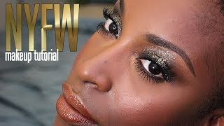 NYFW Inspired Makeup Tutorial With JeanFrancoisCD