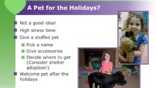 Holiday Child&Pet Safety Tips