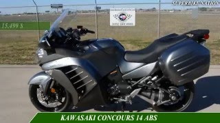 10. 2016 YAMAHAFJR1300ES  VS KAWASAKI CONCOURS 14 ABS-specifications