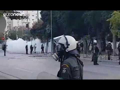 83η ΔΕΘ : Επεισόδια στο συλλαλητήριο για τη Μακεδονία.