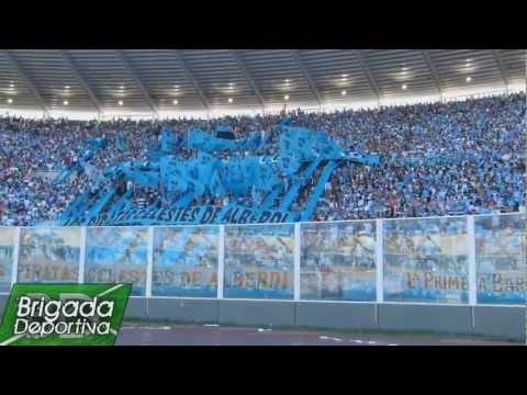 Hinchada de BELGRANO - Belgrano 1 Estudiantes 0 - Los Piratas Celestes de Alberdi - Belgrano