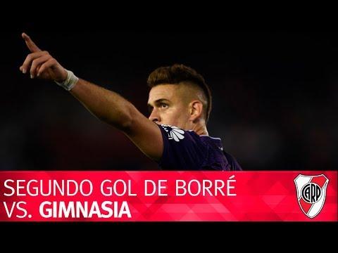 Segundo gol de Rafael Borré vs. Gimnasia