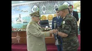 MDN: Gaid Salah reçoit les forces spéciales ayant participés au jeux mondiaux de Russie