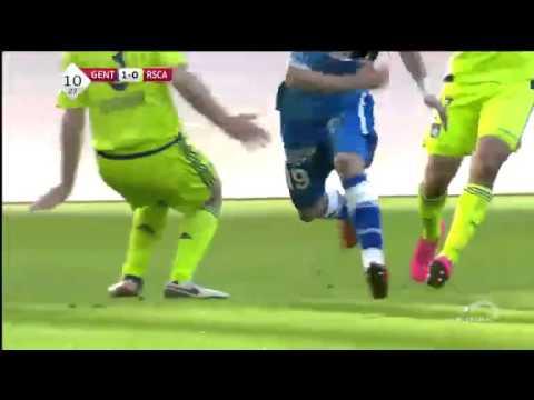 Gent vs. Anderlecht  2 - 0 All Goals (Pro League - 17 January 2016)