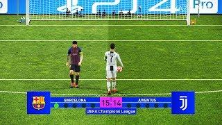 Video Barcelona vs Juventus | Final UEFA Champions League - UCL | Penalty Shootout | PES 2019 MP3, 3GP, MP4, WEBM, AVI, FLV Januari 2019