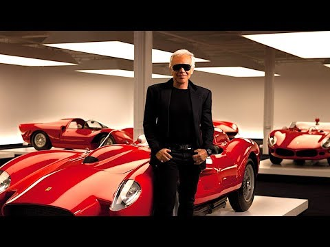 Ralph Lauren Amazing $350 Million Dream Garage Video + Ralph Lauren Interview Car Collection 2017