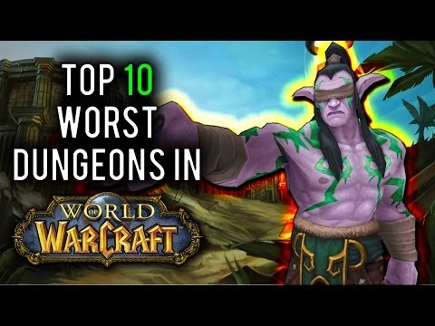 wow - From trash wave bosses to overtuned mechanics wiping your group with no warning, we count 10 of the worst, excruciatingly dull 5-man dungeons ever released i...