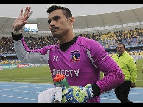 Justo Villar se despide del Colo Colo
