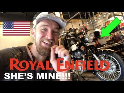 Download I BOUGHT A ROYAL ENFIELD in INDIA!! (FINALLY!!) HD Mp4 3GP Video and MP3