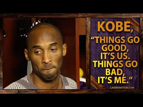 Kobe Is To Blame