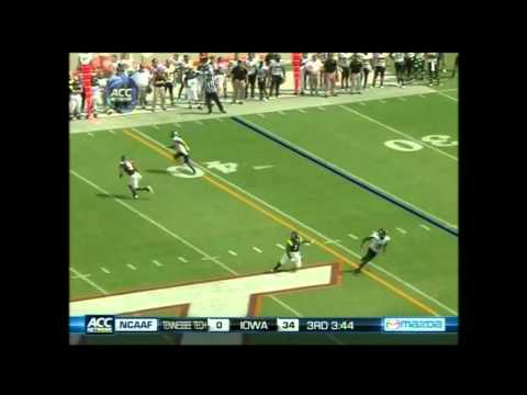 Brian Quick vs Virginia Tech 2011 video.