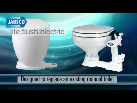 jabsco electric marine toilet installation instructions