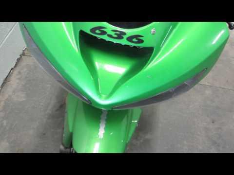 2003 Kawasaki ZX 6R 636 Ninja #55