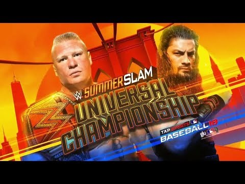WWE SummerSlam 2018 Official and Full Match Card