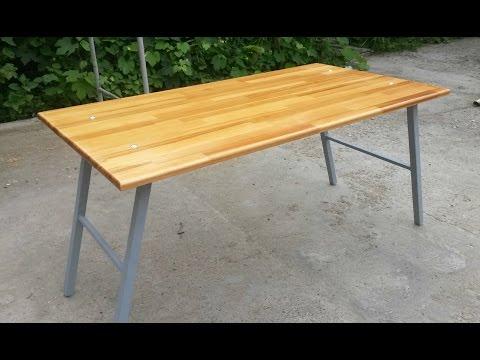 Простейший раскладной стол своими руками 39