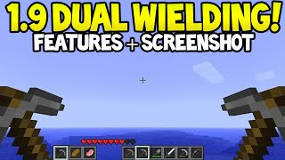Minecraft 1.9 Update! - Dual Wielding CONFIRMED + Screenshot + More!