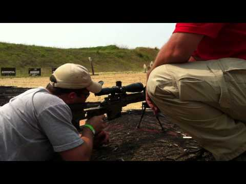Remington MSR .338 Lapua AAC Titan suppressor - 2011 Silencer Shoot