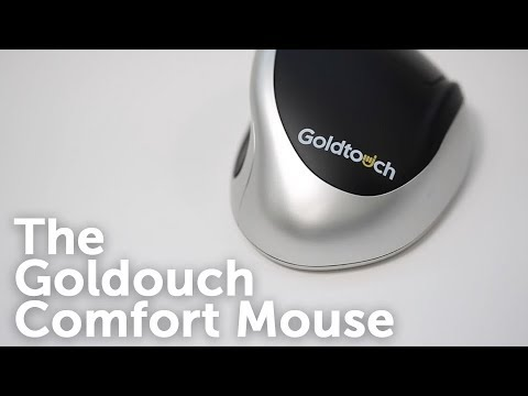 The Goldtouch Ergonomic Comfort Mouse