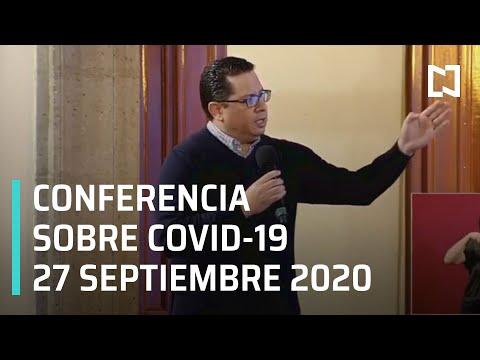 Conferencia Covid-19 en México - 27 de Septiembre 2020