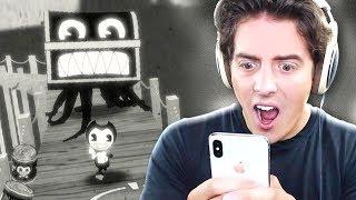 NEW BENDY MOBILE GAME!! (Bendy in Nightmare Run)