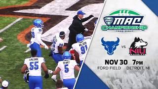 UB Football MAC Championship video