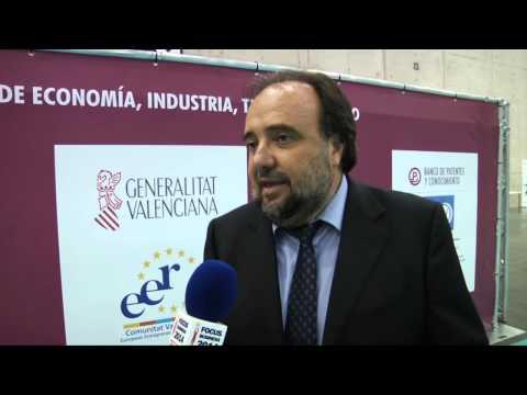 Entrevista a Joaquín Garrido en el #DPECV2014