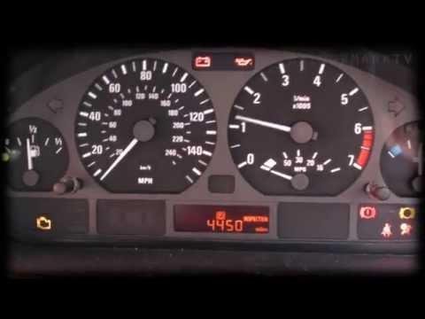 BMW E45 316i SE 2001 Cam Sensor Replace DIY orange light SRS