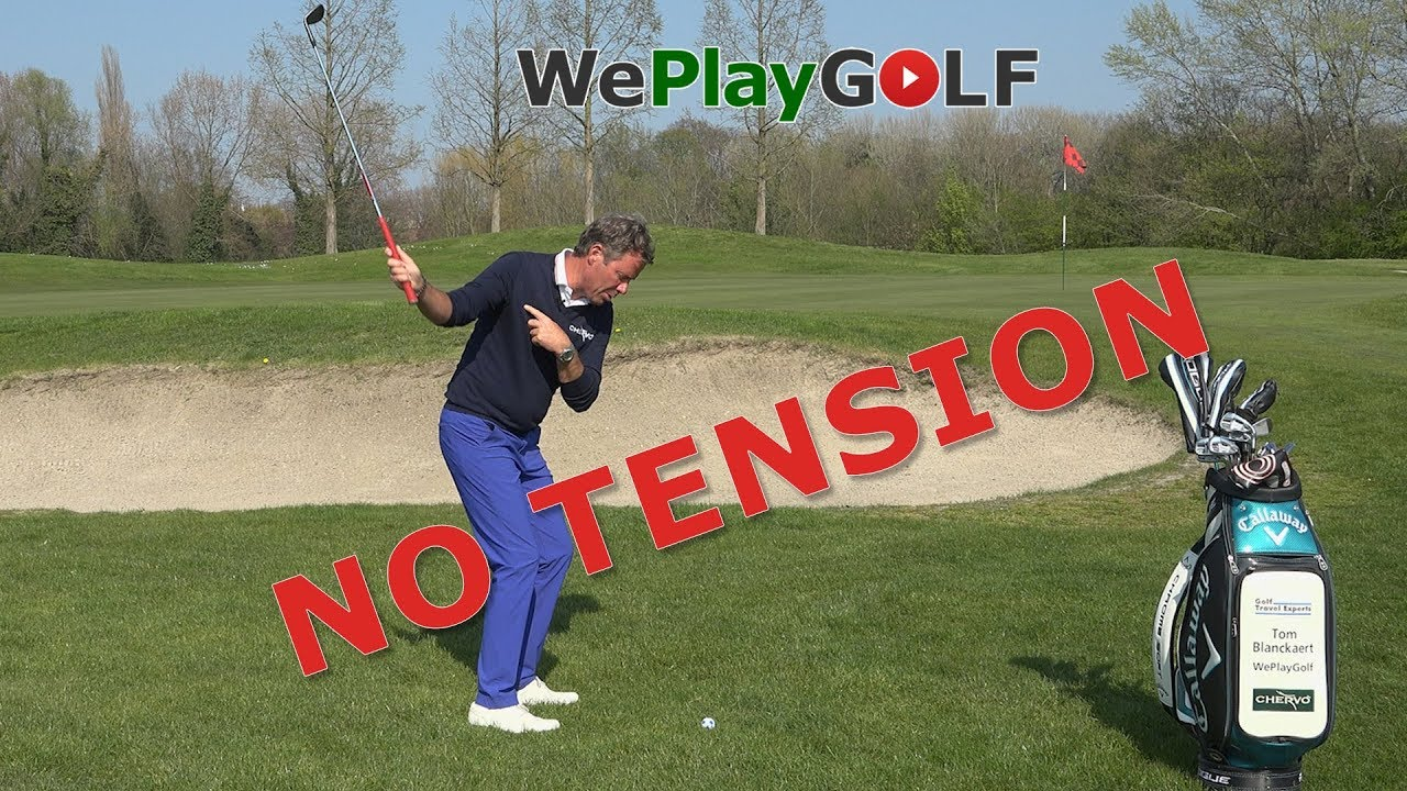 Best golf drill to swing tension free