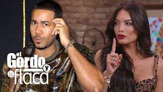 """A Zuleyka Rivera no le gustó el """"Chistesito"""" de Romeo y quiere a Aventura de regreso"""