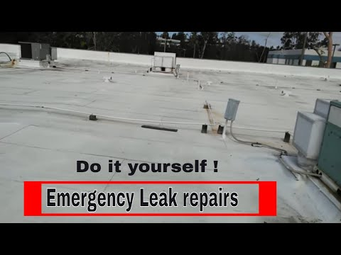 Roofing Repair : How to repair, seal , stop water leaks in minutes using this step by step video.