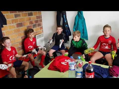 Vestiaires U10 1 victoire 0-6 Aubigny-Savy 14 04 2018