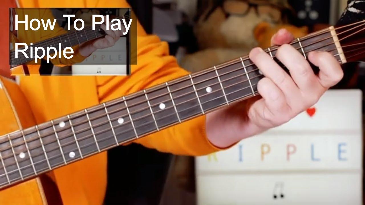 'Ripple' Grateful Dead Easy Acoustic Guitar Lesson