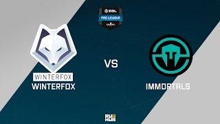 Winterfox vs Immortals, game 1