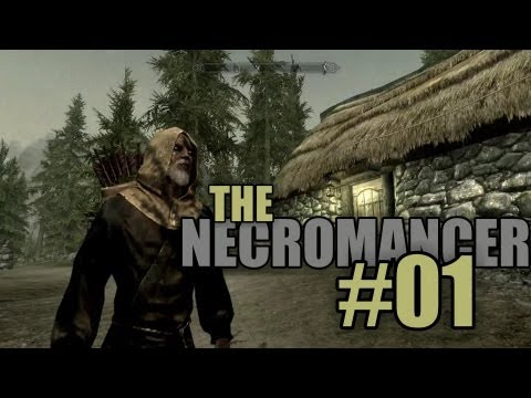 necromancer - This is my second Skyrim series and walks through my wild and crazy attempt at playing a Necromancer. In today's episode I start with creating a character th...